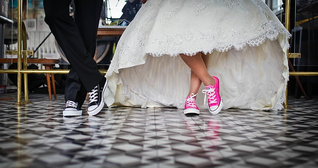 Pay off your wedding with a personal loan.